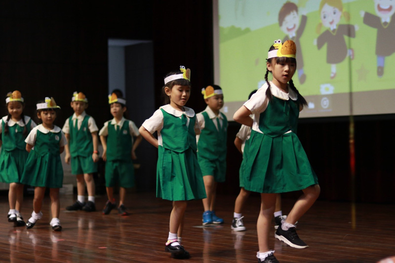 Better When I Am Dancing presented by our K2 children.